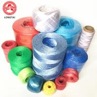 Buy cheap 1 Ply Twisted  PP Baler Twine , Low Shrinkage Polypropylene Baling Twine product