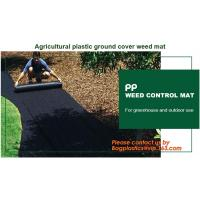 Garden Agricultural Weed Mat Plastic Ground Cover Weed