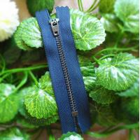 Buy cheap Shoes 5# Metal Teeth Closed End Zipper Durable With Semi-auto Lock Slider product