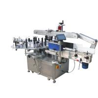 China Round Bottles Double Side Sticker Labelling Machine For Beverage , Food ,Chemical wholesale