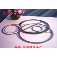 China Spiral Wound Gasket, PTFE With Graphite Metal Twisted Seal Gaskets Spacer on sale