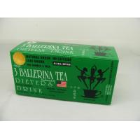 China 3 Ballerina Herbal Slimming Green Tea 18 Bags / Box Strong Effect Reduce Weight on sale