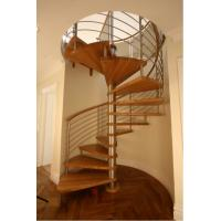 Buy cheap Modern spiral staircase for indoor usage product