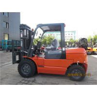 Buy cheap 4500kg Capacity Gasoline Forklift Truck Counterbalance For Railway Station product