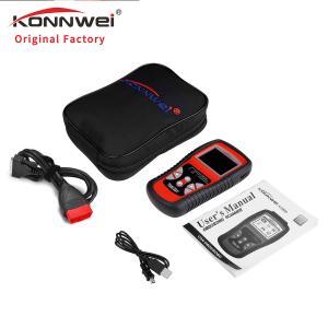 China Commercial Konnwei Car Diagnostic Scanner Vehicle ECU Fault Code Reader And Erase Tool on sale