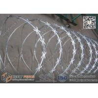 Buy cheap 600mm O.D CBT-60 Butterfly Razor Blade Wire Coil | China Razor Wire Supplier product