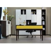 China E1 Grade Modern Commercial Office Furniture , Home Computer Desks Lacquer Painting on sale
