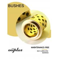 Buy cheap C86300 SAE430B Manganese Bronze Flange Bushings With Solid Lubricant Plugs product