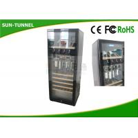 Buy cheap One Glass Door Alcohol Vending Machine Wine Kiosk With ED Lighting System product