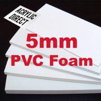 5mm High Density Foam Board ,  PVC Soundproof Foam Board For Printing Usage