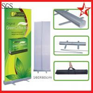 China 60*160cm aluminum roller banner on sale