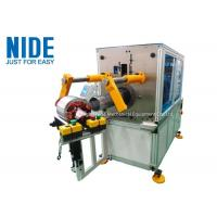 Buy cheap Horizontal Malfunction Alarm Coil Insertion Machine For Insert Coil And Wedge product