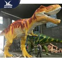 Buy cheap Vivid Life Size Professional Realistic Dinosaur Models For Museum Exhibits product