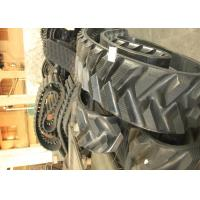 China 48 Link Continuous Rubber Track , Rubber Tracks For John Deere Tractors on sale