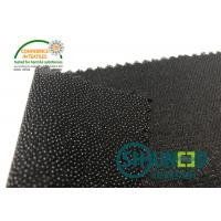 Buy cheap Black PA Coated Woven Interlining Twill Woven Stretch Interfacing product