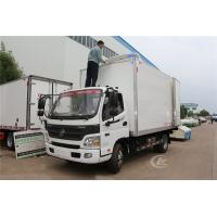 Buy cheap Foton Frozen Delivery Truck Refrigerated Box Truck 3 Ton 4.1 Meters Customized Color product