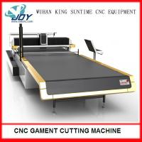 China Electric Automatic Fabric Cutter , CNC Cloth Cutting Machine With Completed Spreading wholesale