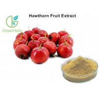 China 5% Flavonoids Fruit Extract Powder Hawthorn Herb For High Blood Pressure on sale