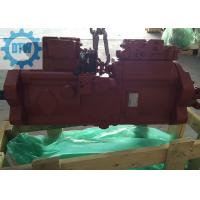 Red Komatsu PC300 Excavator Specs Piston Type Hydraulic Pump K5V140DTP-9N29