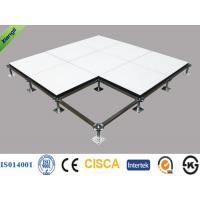 China Anti Static HPL Calcium Sulphate Raised Floor for Bank / Military , 600*600*32mm on sale