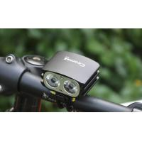 Buy cheap Coomas C12 1600lm led bicycle light and headlight, 8.4V rechargeable battery led bike lighting product