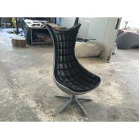 Buy cheap Black Animal Fiberglass Arm Chair / Living Room Mermaid Tail Chairs product