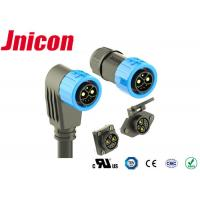 Buy cheap E Vehicles Waterproof Power Connector M23 Push Locking 2 Power 1 Grouding 5 Data product
