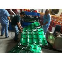 Buy cheap Automatic Glazed Tile Roll Forming Machine , Ceramic Tile Making Machine 380V 50HZ product