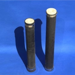 Buy cheap Dn 65/80/100mm Fine Bubble Tube Diffuser EPDM / SILICONE membrane product