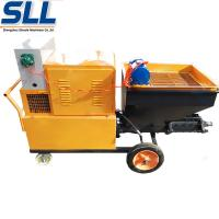 Buy cheap Mix Mortar Cement Stucco Sprayer , Automatic Plastering Machine For Wall from wholesalers