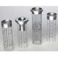 Buy cheap SS Galvanized Coating Filter Bag Cage Efficient Utilizing In Dust Collector product