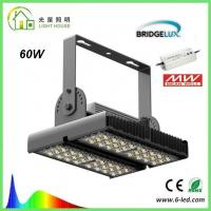 High Power 60W LED Tunnel Lights High Brightness 110 - 130 lm/w CE / RoHS