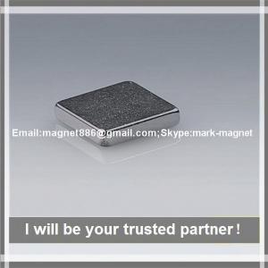 Buy cheap Заприте магниты магнитов ИСО9001 ИСО14001 неодимия ранга н52 сильные постоянные from wholesalers