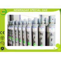 Nitrogen Trifluoride NF3 Electronic Gases With Tungsten Silicide , Non Flammable
