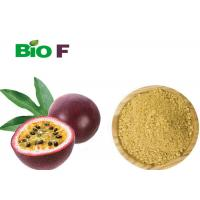 China Yellow Nutrition Passion Fruit Juice Powder For Insomnia Sleep Disorders on sale