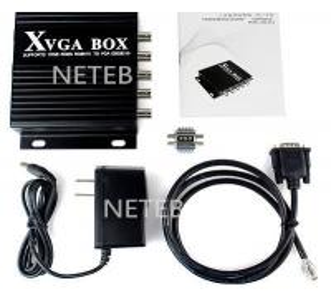 Buy cheap EGA/CGA/MDA/YUV to VGA Industrial XVGA Box Converter Unit product