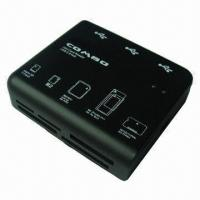 Buy cheap USB Card Reader and Hub with Data Transfer Rate of Up to 480Mbps product