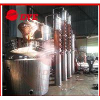 Buy cheap 1 - 3 Layers Whisky Distillation Kit , Fractional Distillation Apparatus from wholesalers