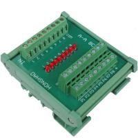 China Logic Level Polarity Interchange Converter of NPN and PNP PLC Signal 8 Ways on sale