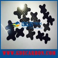 Buy cheap Fibra de carbono del CNC que corta piezas product