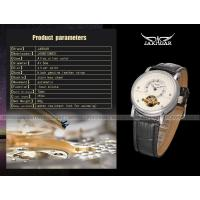 Jargar Fashion Ladies Automatic Watch Gold Skeleton Automatic Three Hands Gift