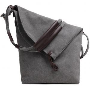 China Waterproof Custom Canvas Messenger Bags Purse , Shoulder Sling Laptop Bag on sale