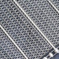 Buy cheap Stainless Steel Conveyor Belt Mesh|SS304/316 with Pitch 15.9 to 76.2 mm product