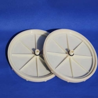 Buy cheap 200/270/340mm Membrane Silicone EPDM Diffuser Disc For Water Treatment product