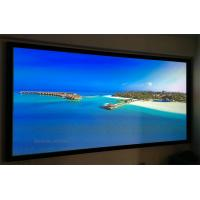 Buy cheap Wall Mount Fixed Frame Projection Screen HD Aluminum Frame For Home Cinema product