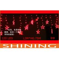 China 220V Adjustable Red LED Curtain Lights 120pcs Lamp For Wedding Stage on sale