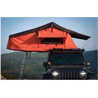 Overland Outside Camping 4x4 Roof Top Tent With Aluminum Telescopic Ladder