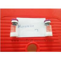 Buy cheap Hexarelin Peptide Hormones Bodybuilding CAS 140703-51-1 White Lyophillized Powder product