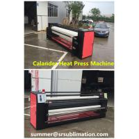 China Textile Sublimation Rotary Heat Press Machine 55a Current 1600mm Transfer Width on sale