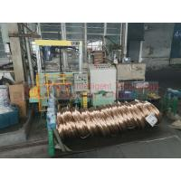 Buy cheap Automatic Steel Coil Packing Machine , Industrial Horizontal Wrapping Machine product